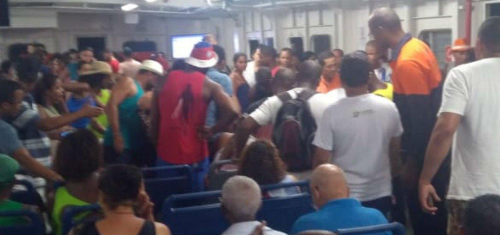 [Idoso de 82 anos morre após passar mal durante travessia de ferry-boat]