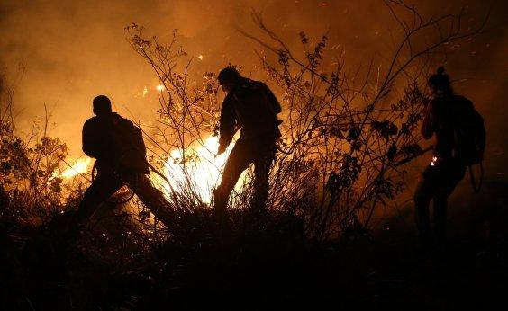 [Área de queimada deste ano deve ser menor do que em 2015 na Chapada Diamantina]