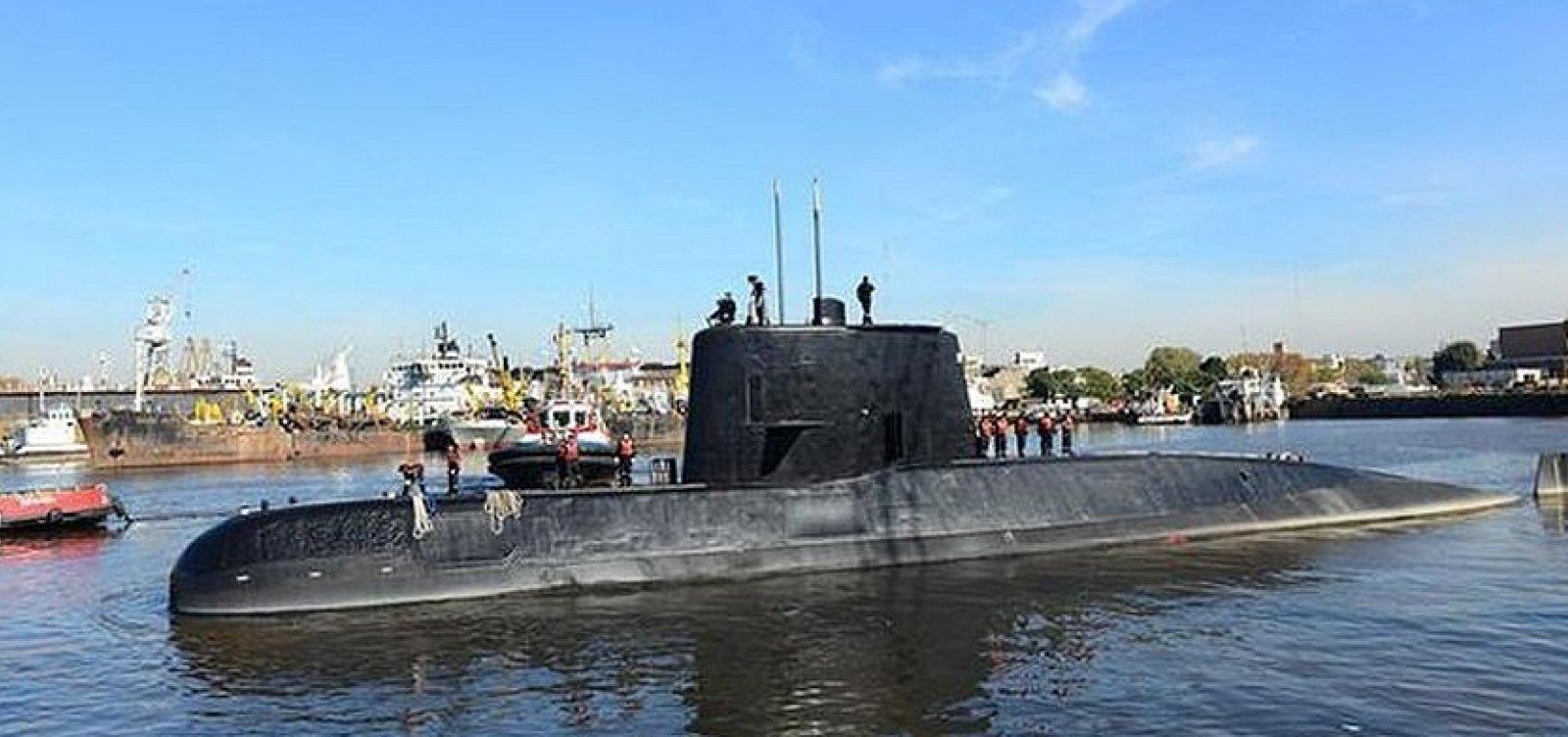 [Submarino argentino desaparecido é encontrado após um ano e um dia]