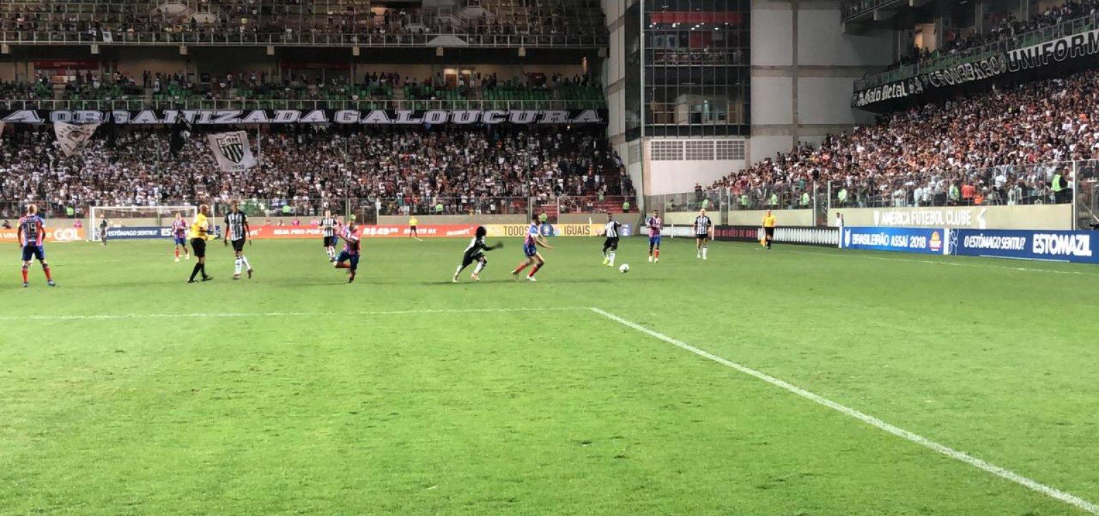 [Bahia perde por 1 a 0 para o Atlético-MG fora de casa]
