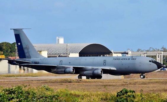 [Treinamento militar envolve mais de 100 aeronaves e 14 países no RN]