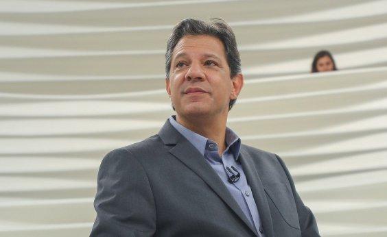 [Haddad declara dívida de campanha de cerca de R$ 3,8 milhões]