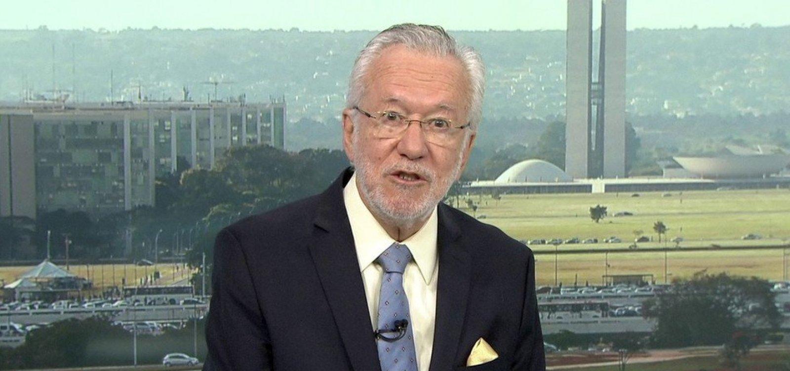 [Alexandre Garcia é indicado para assumir a comunicação do governo Bolsonaro, diz jornal]