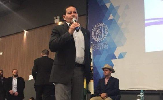 [Mourão diz que novo governo deve preservar o núcleo da Petrobras]