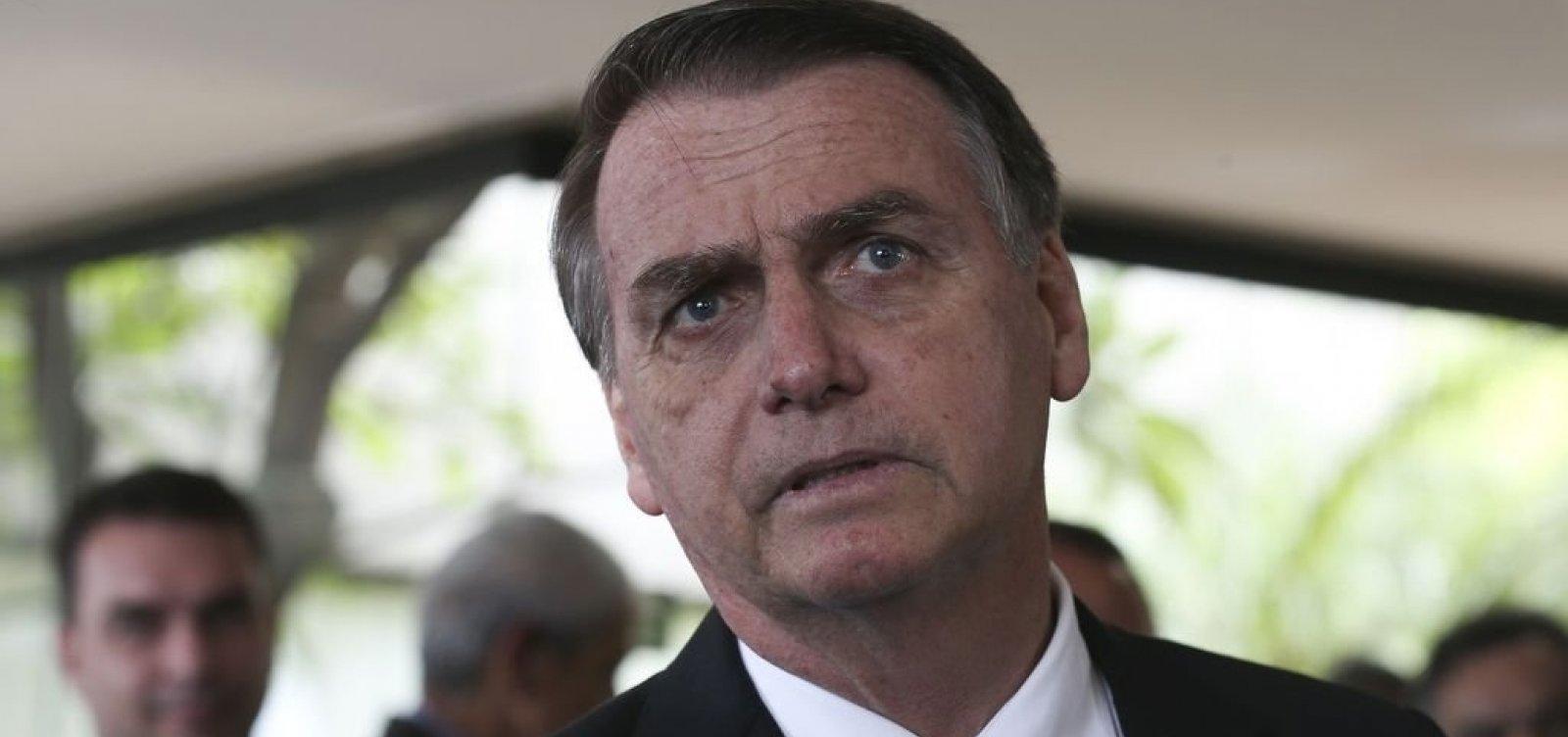 [Bolsonaro diz que soberania e leis do Brasil devem ser respeitadas]