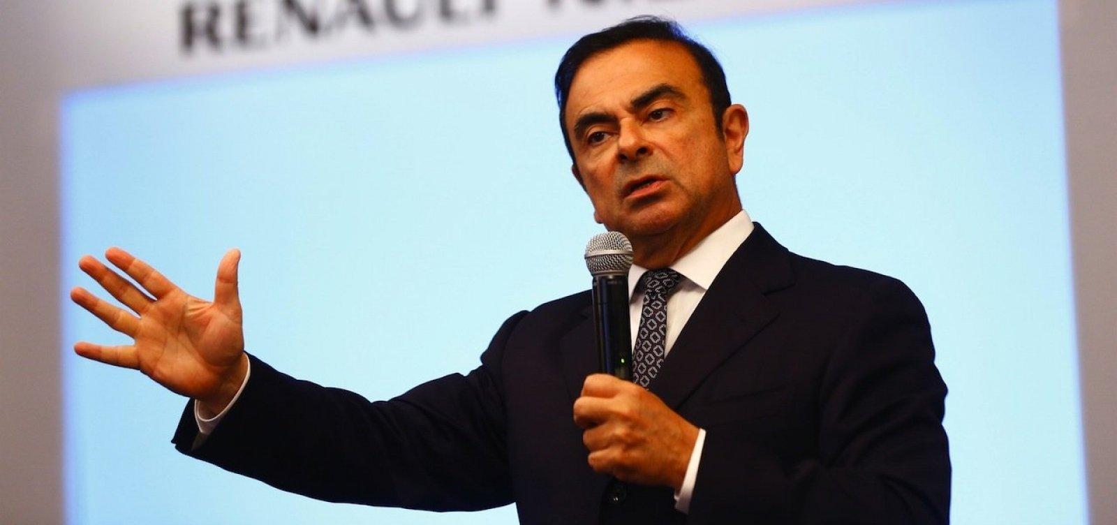 [Ações da Nissan caem 5,45% após prisão de presidente brasileiro da empresa]
