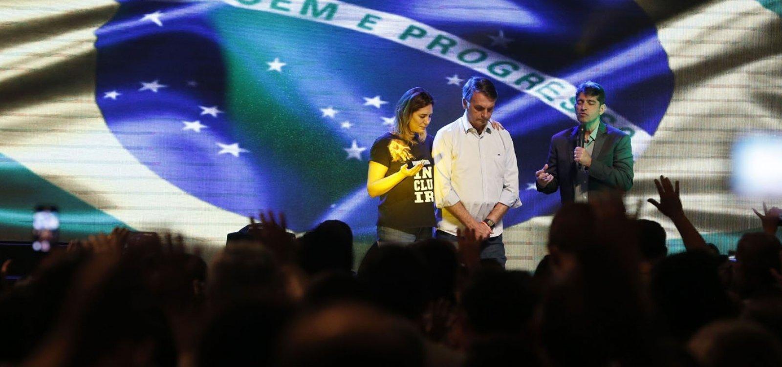 [Bolsonaro planeja culto ecumênico no dia da posse]