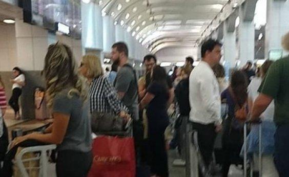 [Queda de energia atinge Aeroporto Internacional de Salvador]