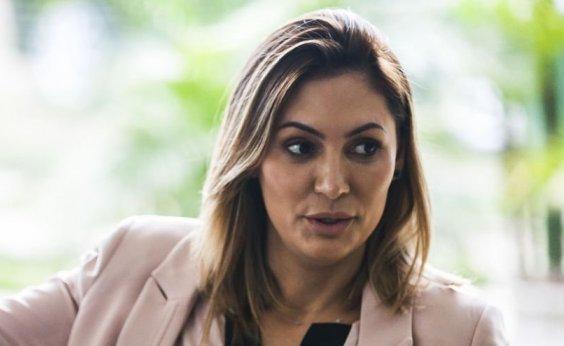[Michelle Bolsonaro e Marcela Temer visitam o Palácio do Alvorada]