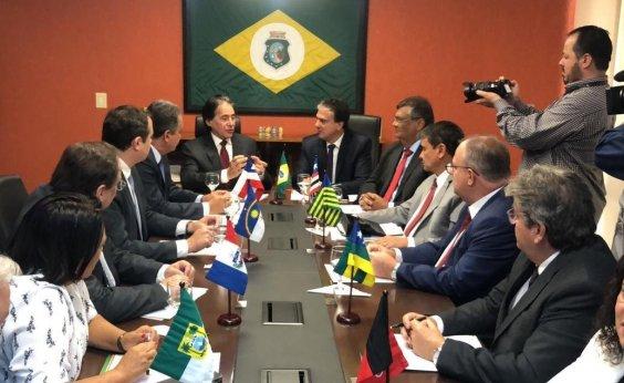 [Rui se reúne com governadores do nordeste para redigir carta a Bolsonaro com demandas da região]