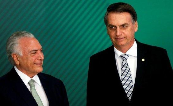[Temer quer adiar mudança na Caixa para Bolsonaro indicar presidente do banco]