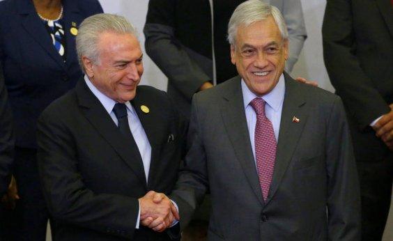 [Brasil e Chile assinam acordo de livre-comércio]