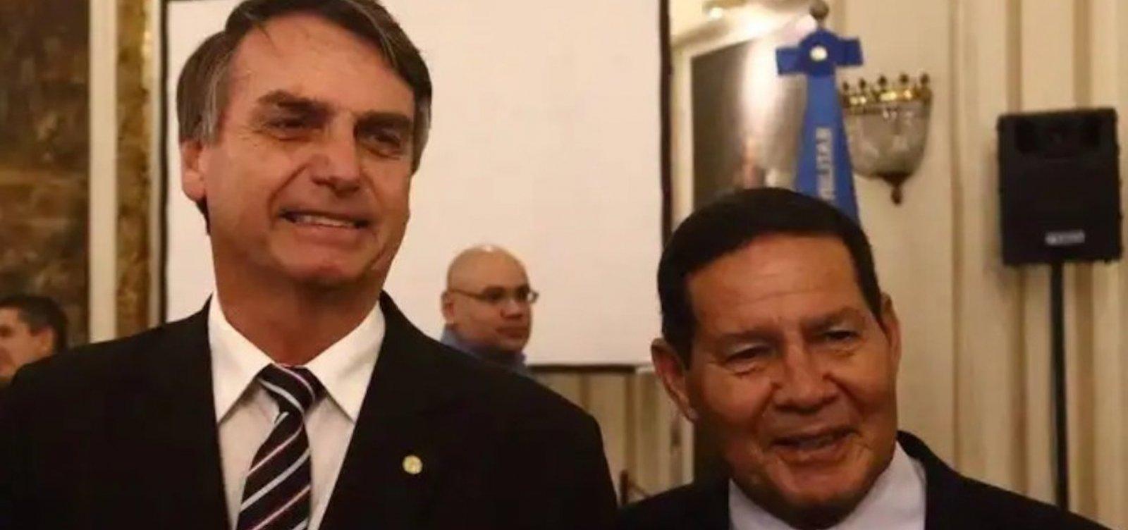 [Procuradoria pede arquivamento de duas ações do PT contra chapa Bolsonaro-Mourão]