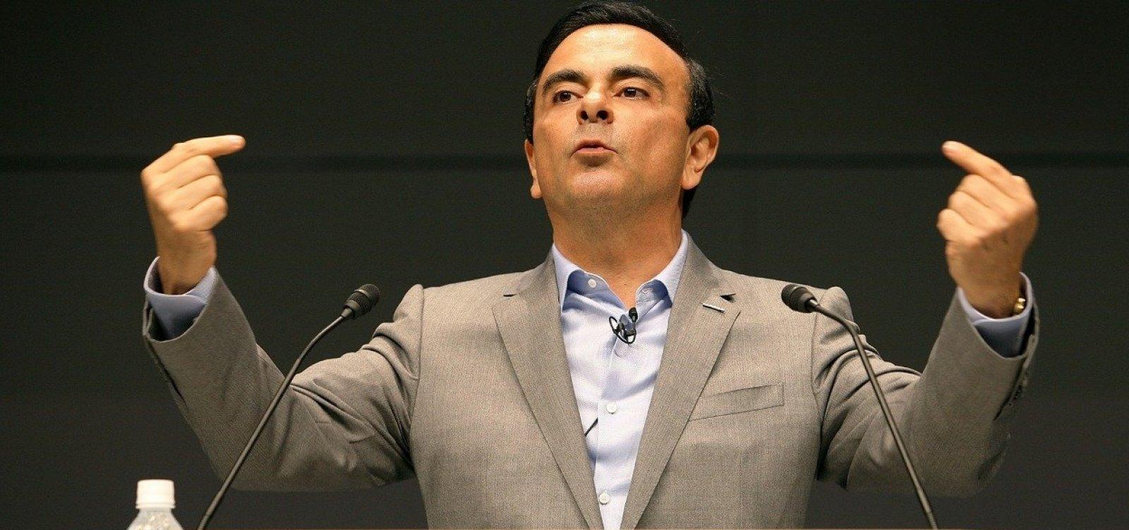 [Procuradores japoneses devem apresentar novo processo contra Ghosn, diz jornal]