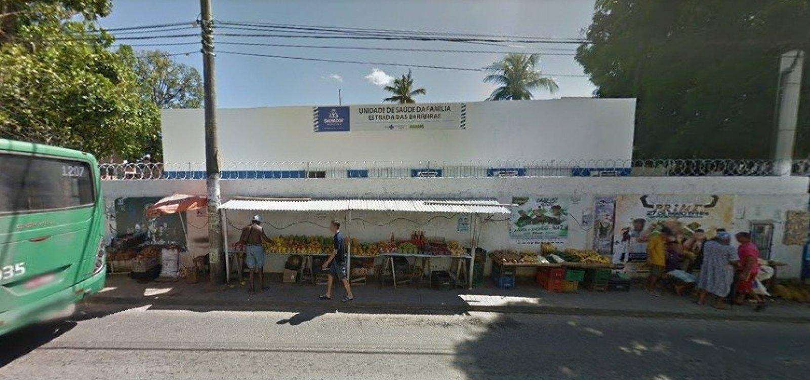 [Posto de saúde suspende atendimento após ser arrombado em Salvador]