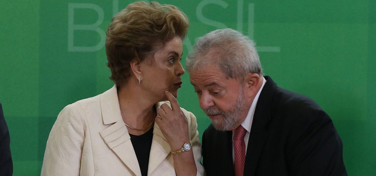 [Lula e Dilma viram réus em ação da Justiça do DF]