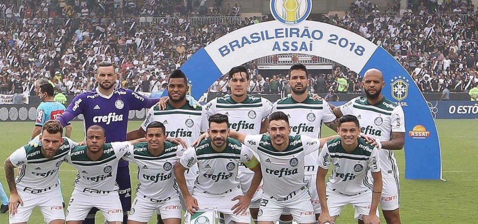 [Palmeiras vence Brasileirão 2018]