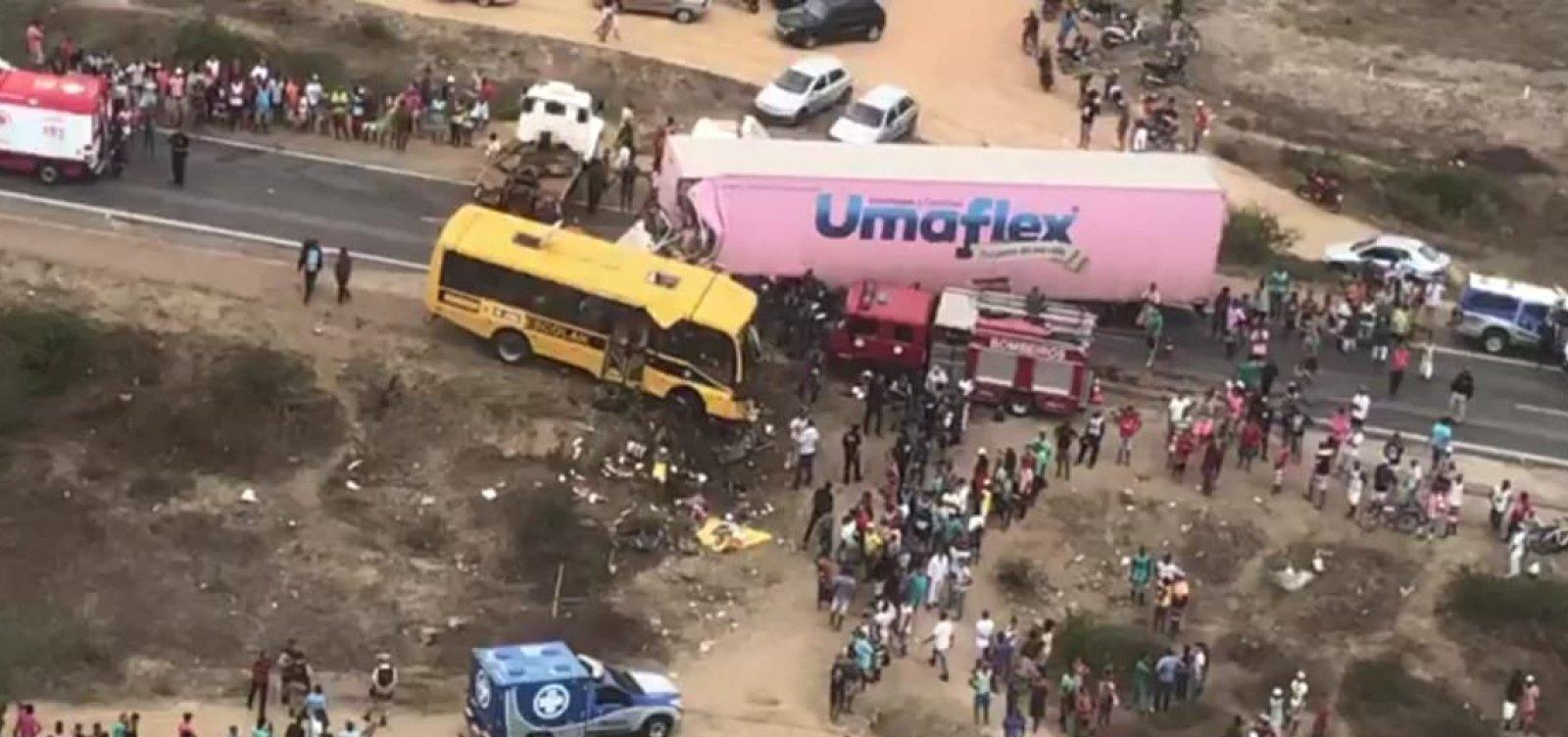 [Polícia identifica vítimas de acidente na BR-116]