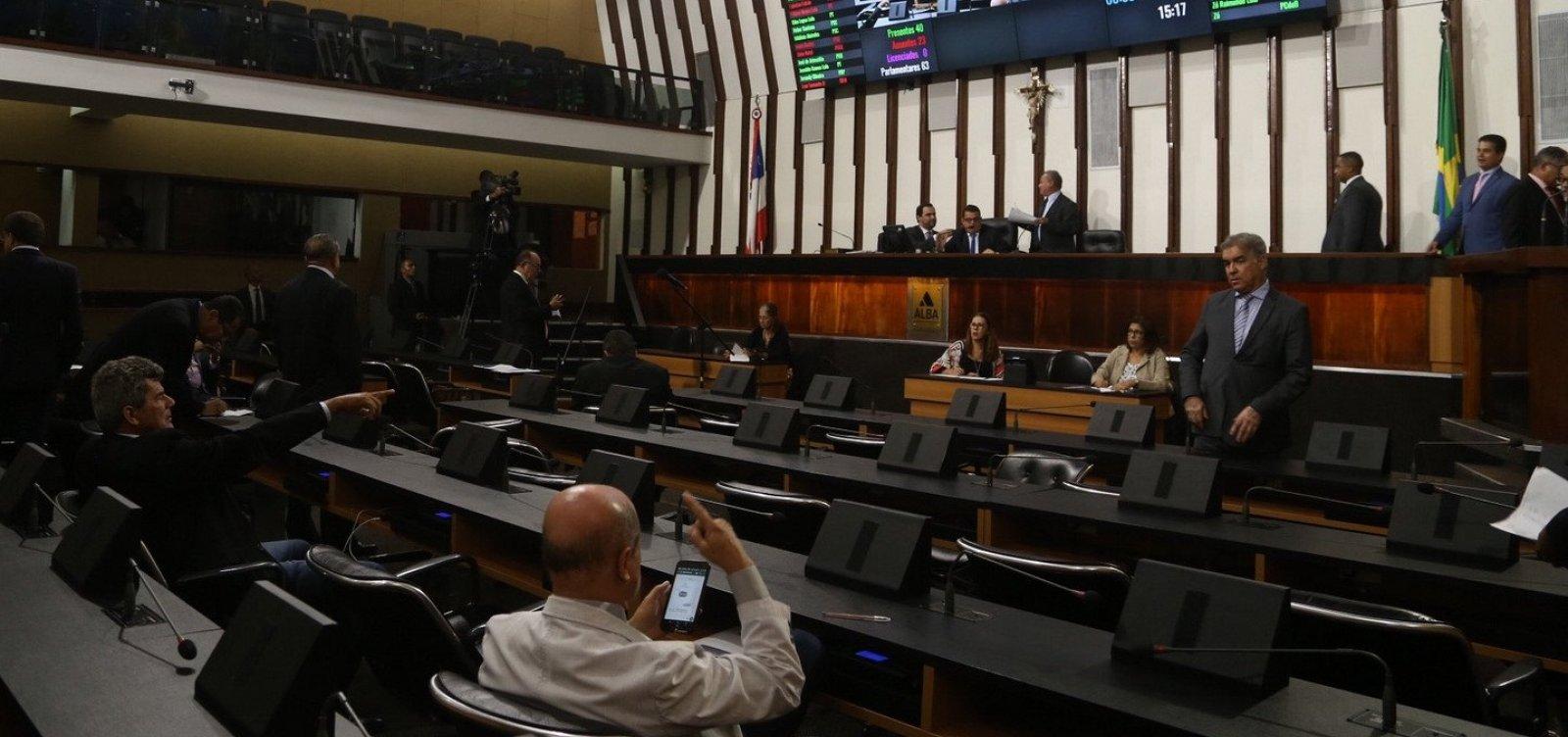 [AL-BA condiciona aprovação de remodelação do Estado a suplementação de R$ 80 mi]