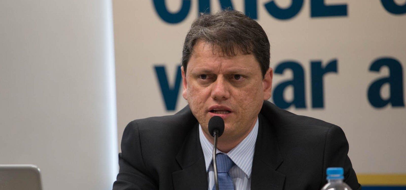 [Bolsonaro anuncia Tarcísio Gomes de Freitas como ministro da Infraestrutura]