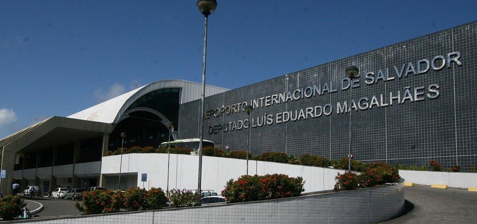 [Mau tempo altera rotina no Aeroporto de Salvador]