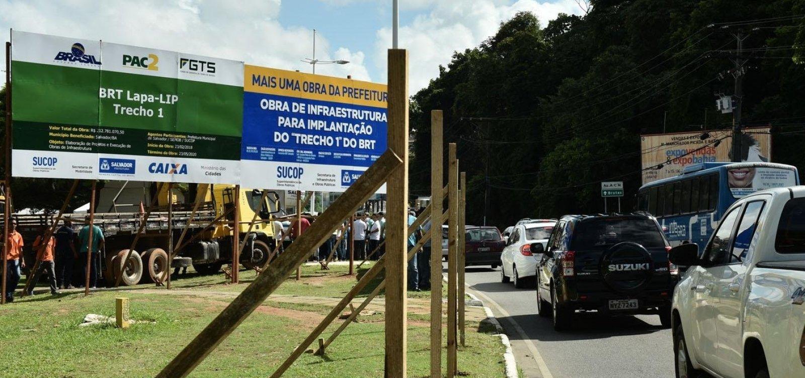 [BRT: Embasa diz que, mesmo com pedidos, não teve acesso ao projeto do modal]