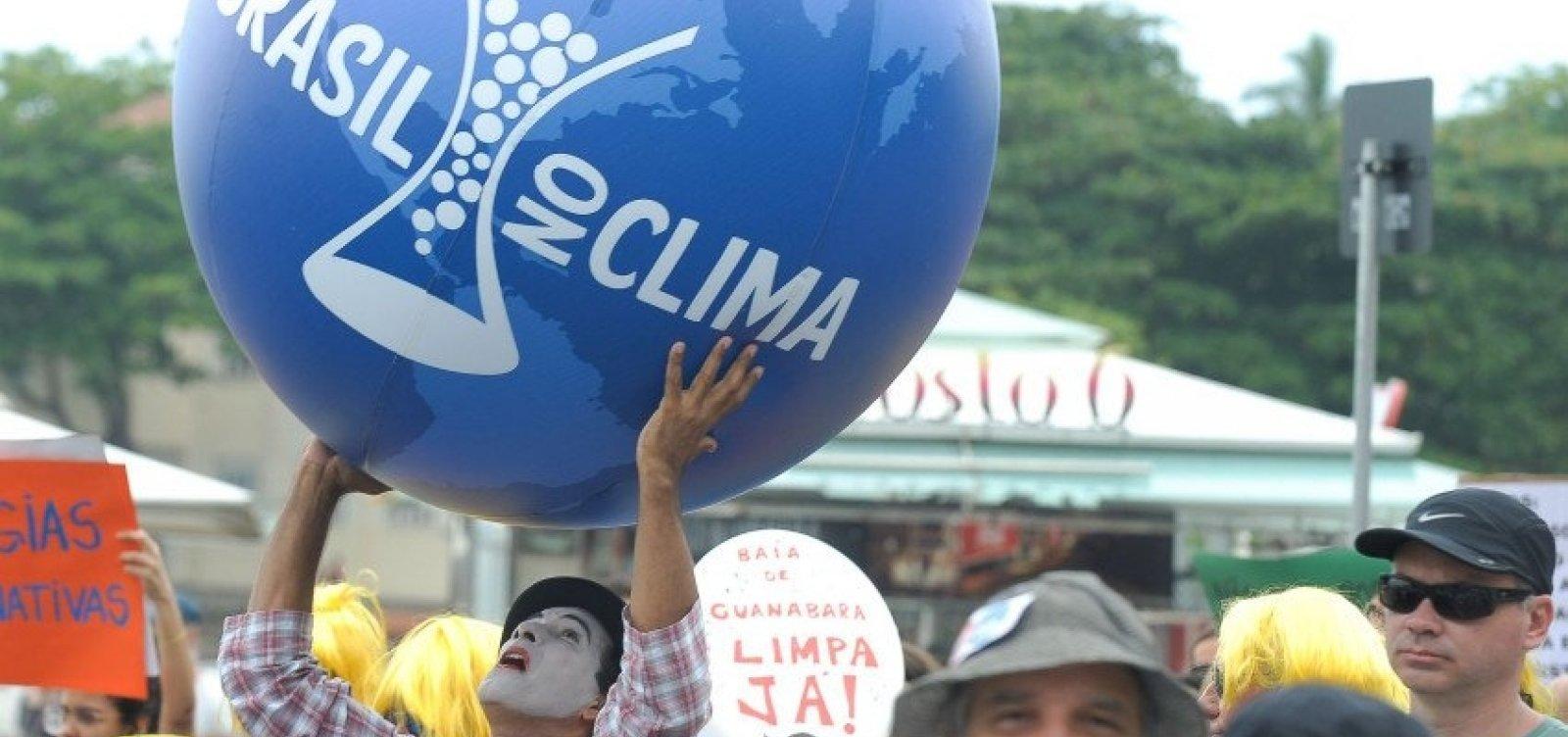 [Brasil recua e decide não sediar Conferência do Clima da ONU em 2019]