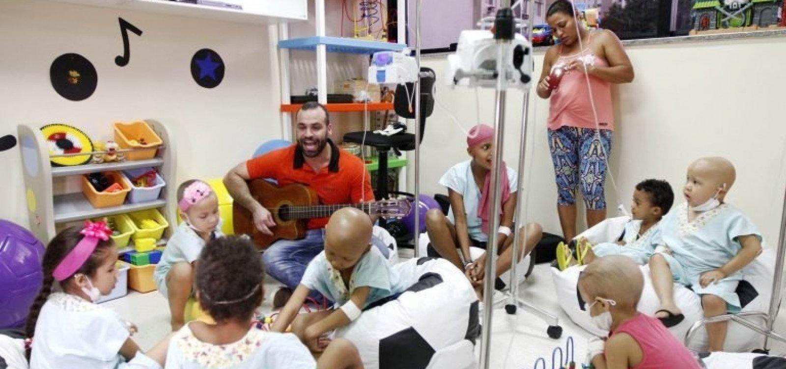 [Ministério da Saúde diz que mortes de crianças por câncer diminuem 13% em 10 anos]