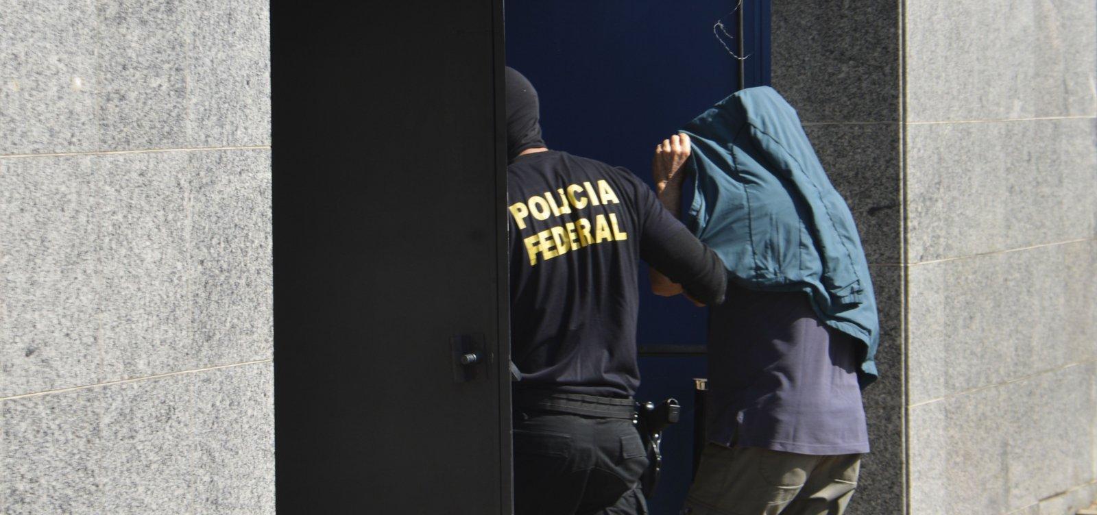 [Polícia Federal deflagra operação contra pornografia infantil]
