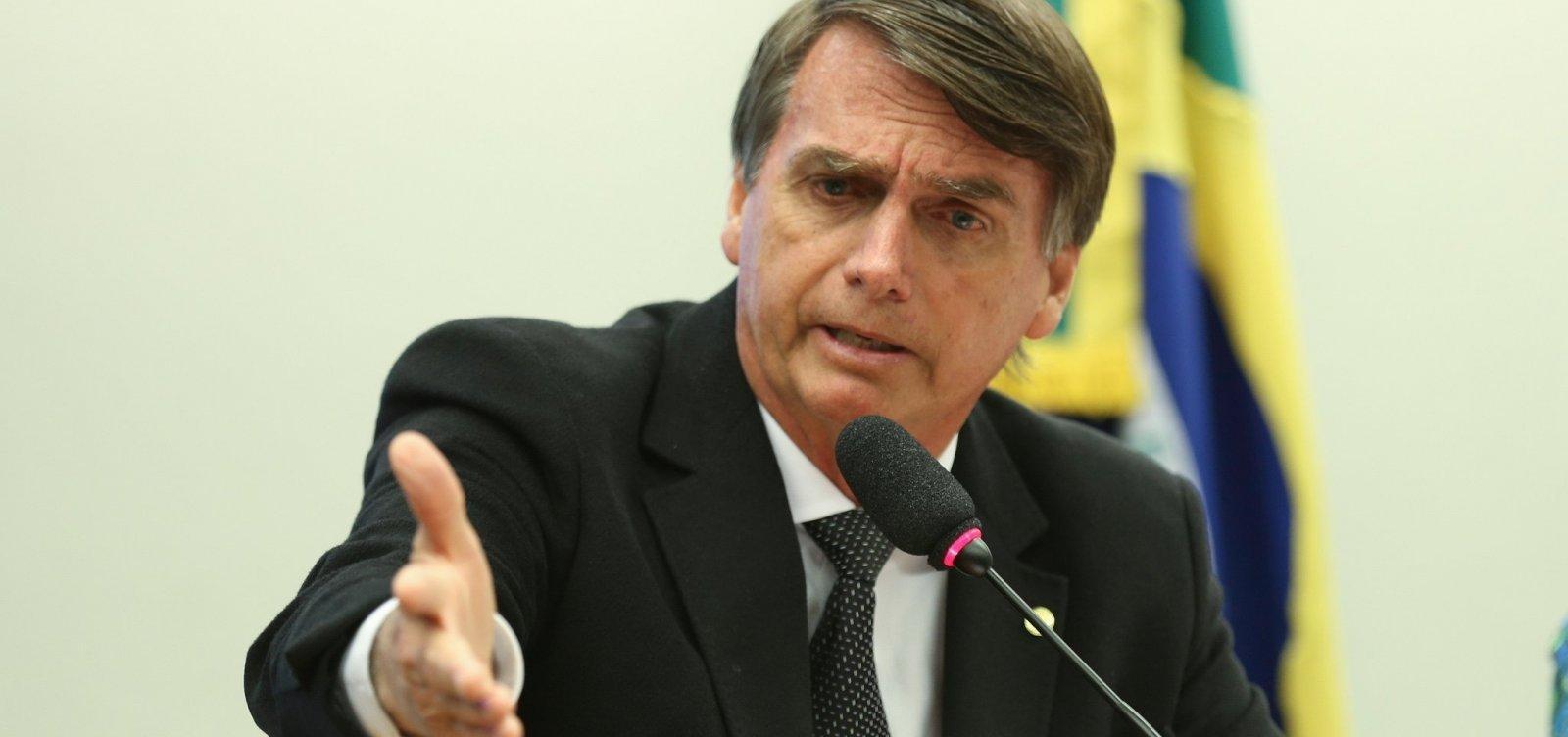 [Bolsonaro diz que Trump pode vir ao Brasil para sua posse ]