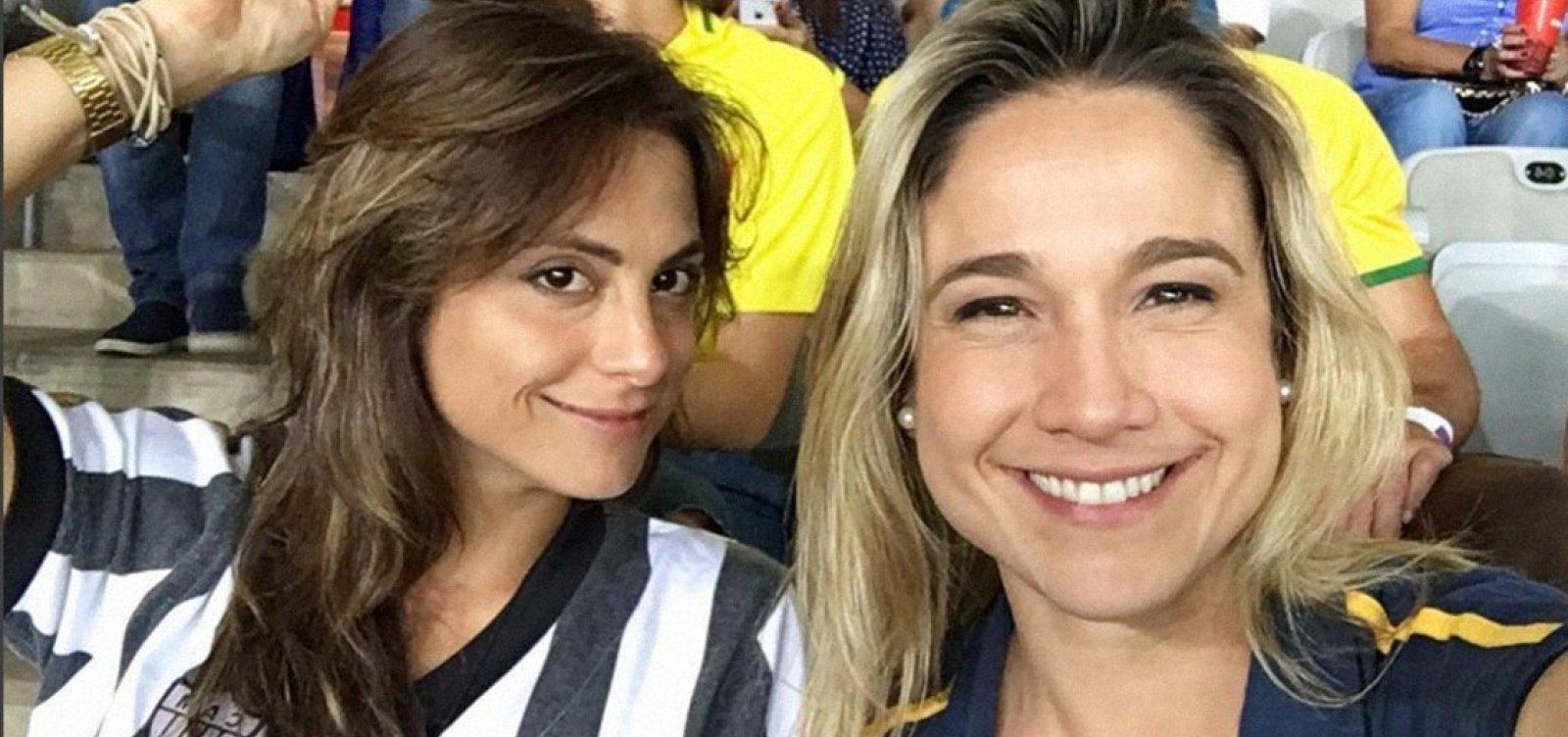 [Ivete revela que Fernanda Gentil e Priscila Montadon se casaram em segredo]
