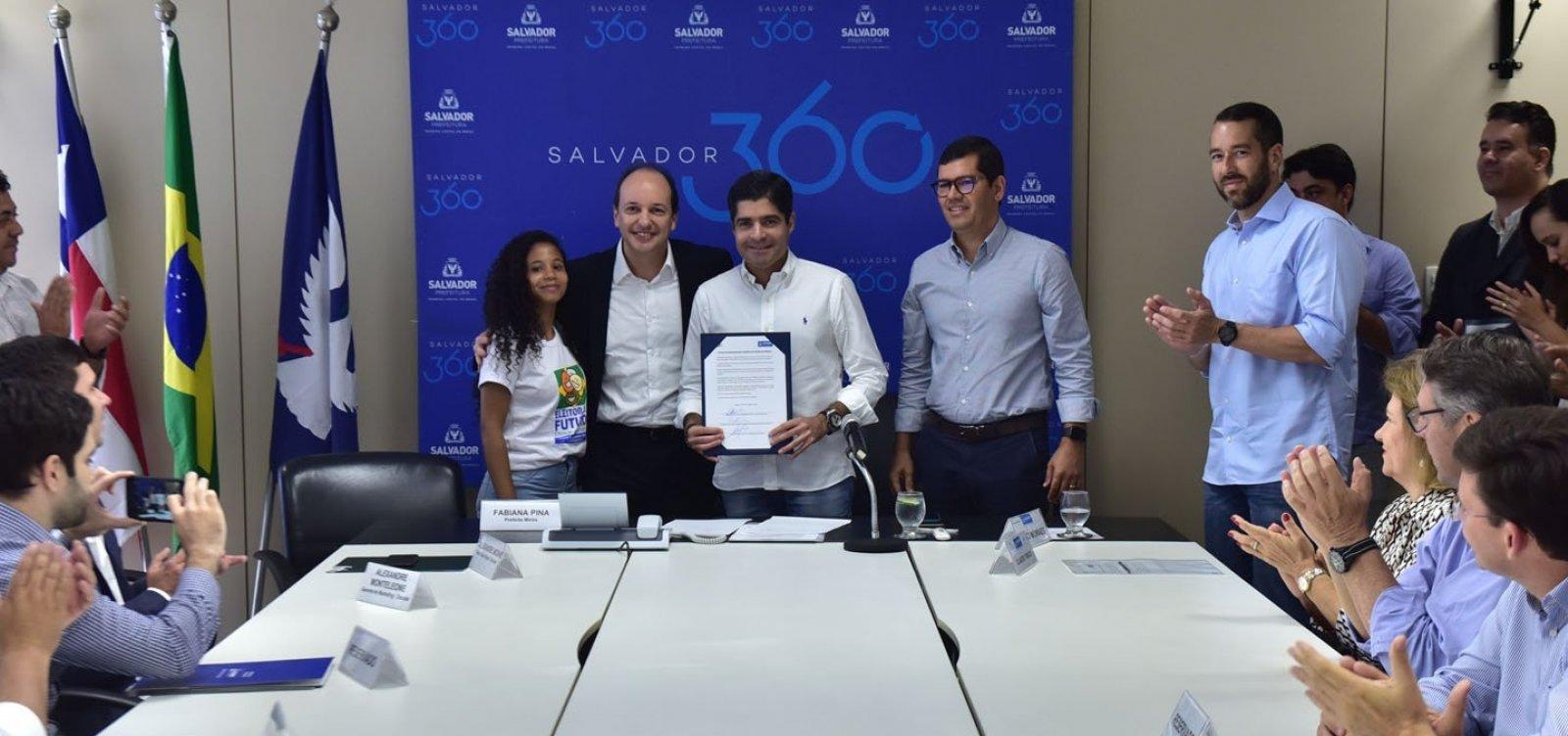 [Prefeitura anuncia parceria para atrair 3 mil turistas a Salvador]