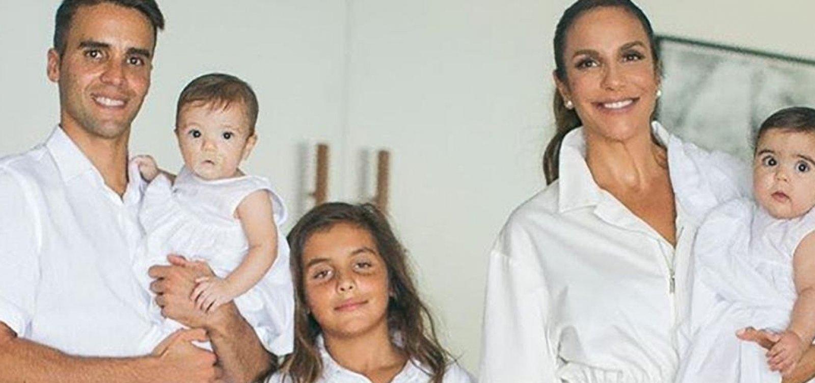 [Marido de Ivete posta foto com os 3 filhos: 'De prega'; Veja!]