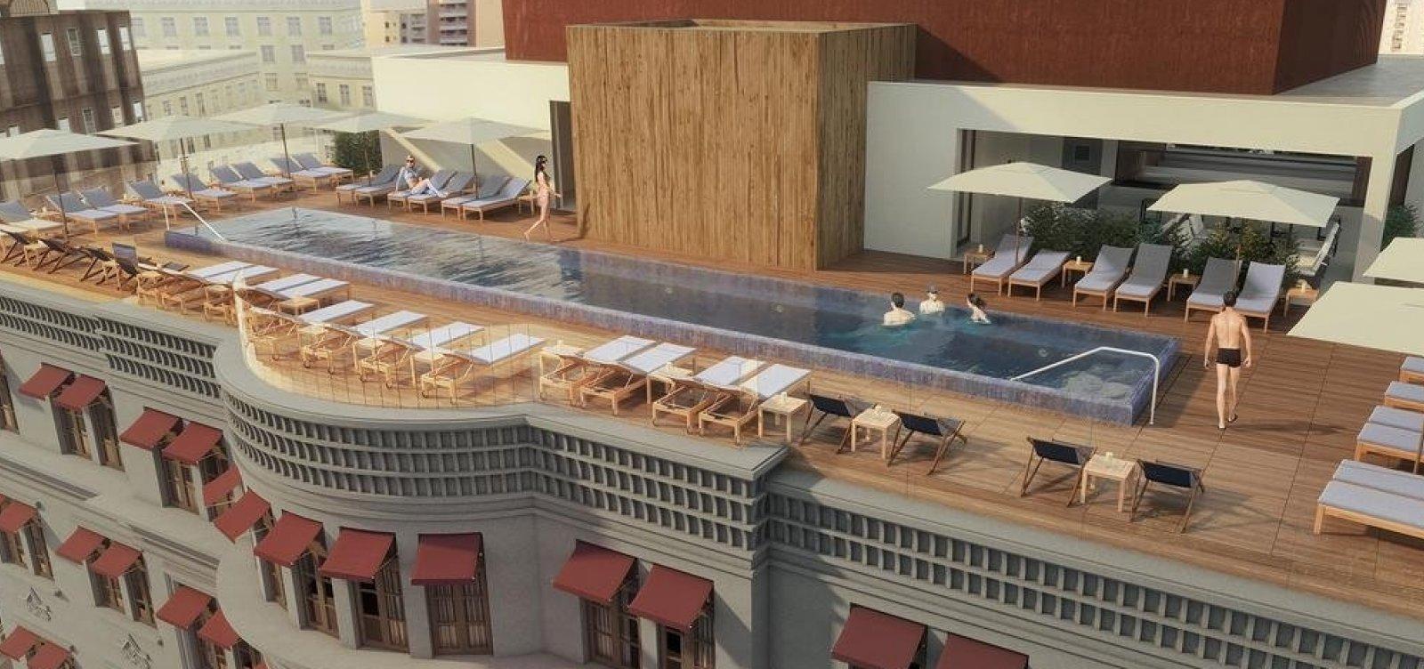 [ Hotel Fasano escolheu a Bahia por ser a 'capital' do Nordeste, diz sócio de construtora]
