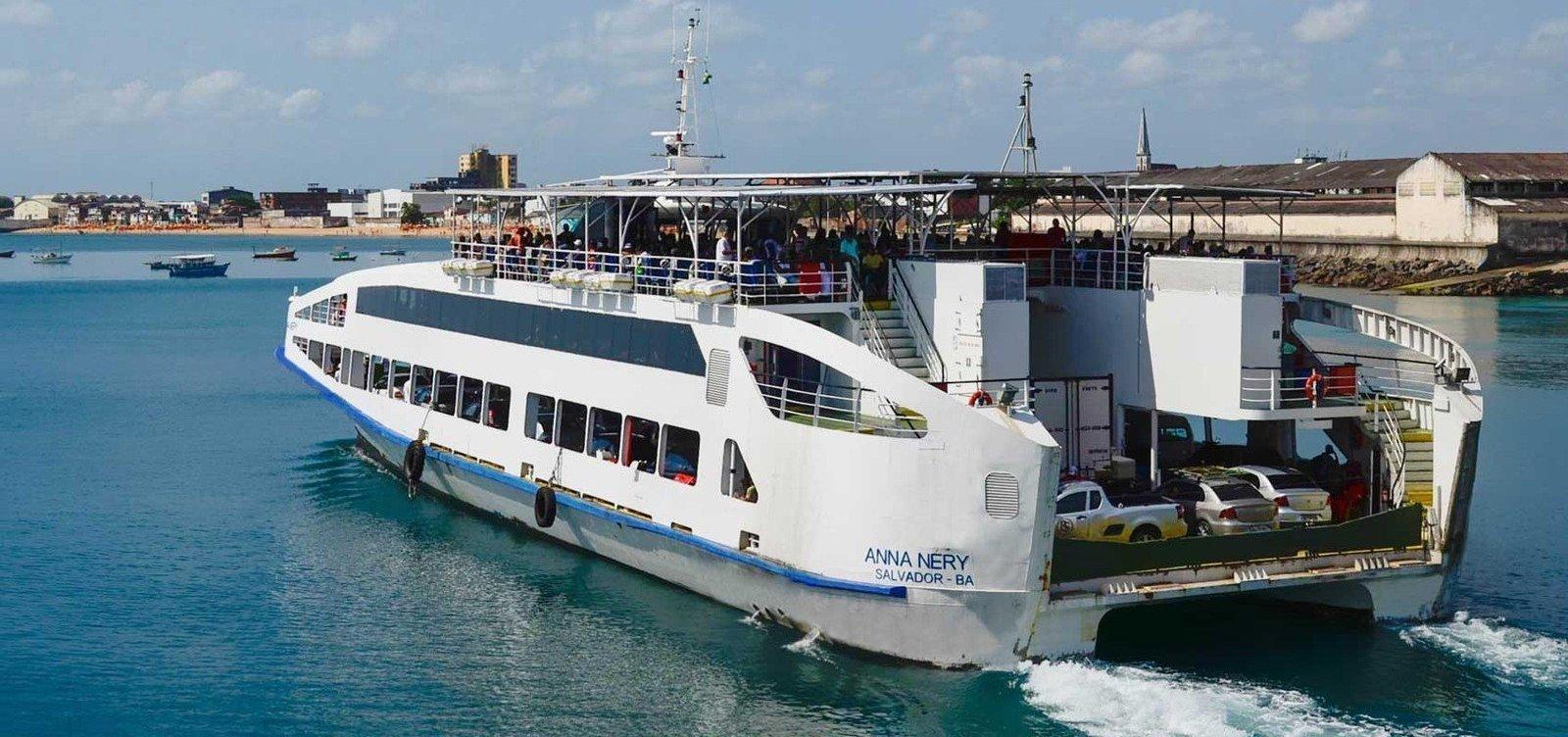 [Ferry abre mais 400 vagas extras para viagens com hora marcada no fim de ano]