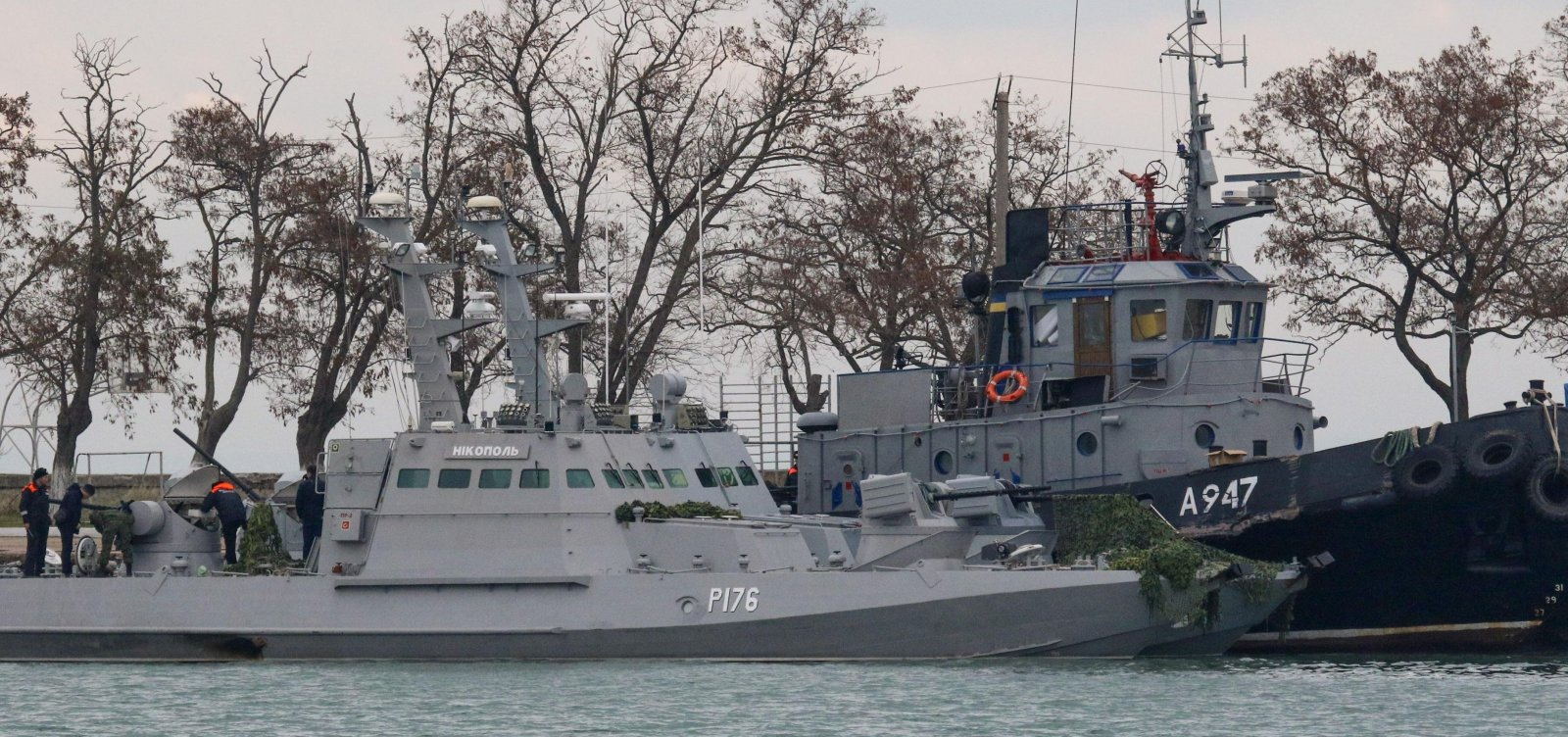 [Rússia libera parcialmente passagem por estreito onde deteve navios ucranianos]