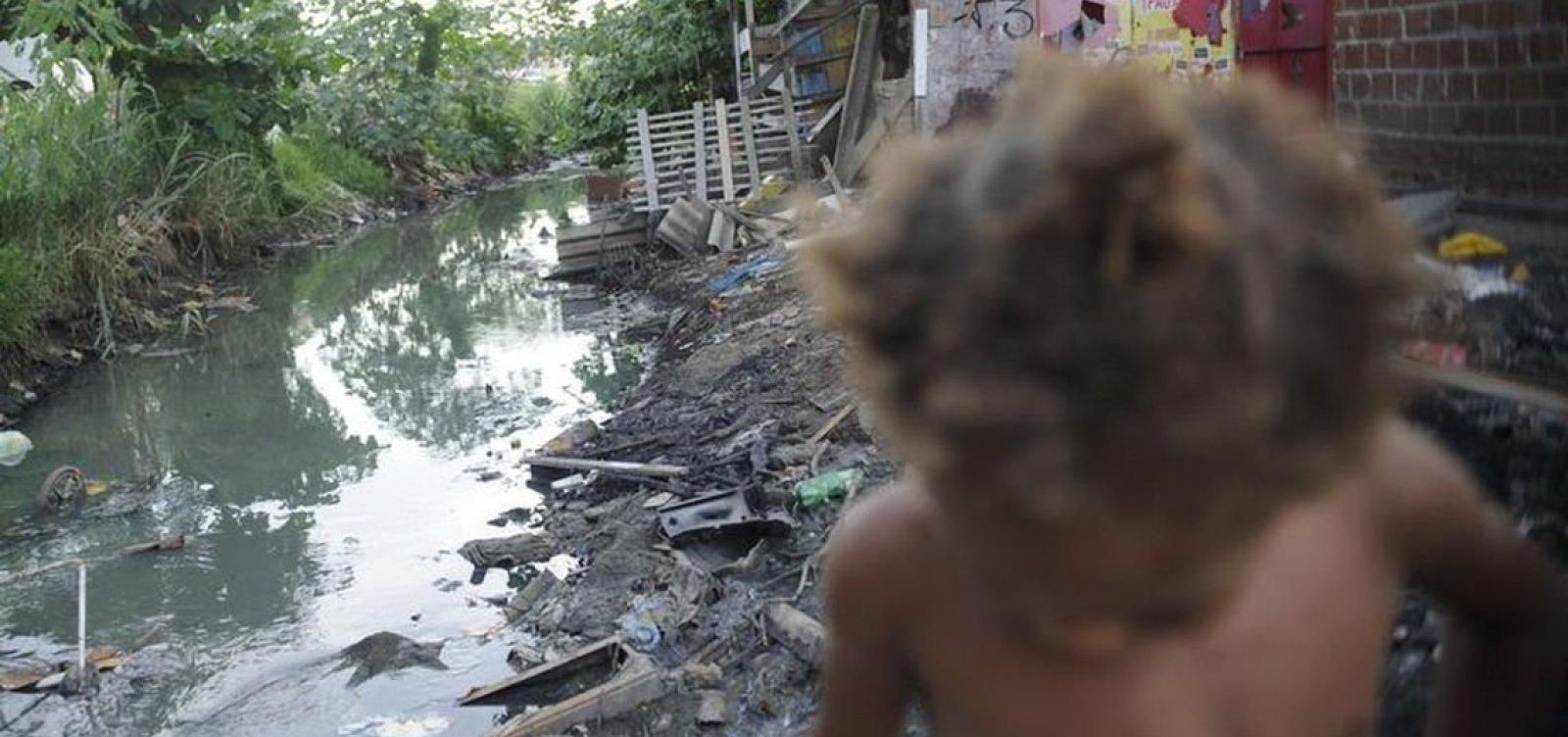 [Quase metade da população baiana não tem acesso a saneamento básico, diz IBGE]