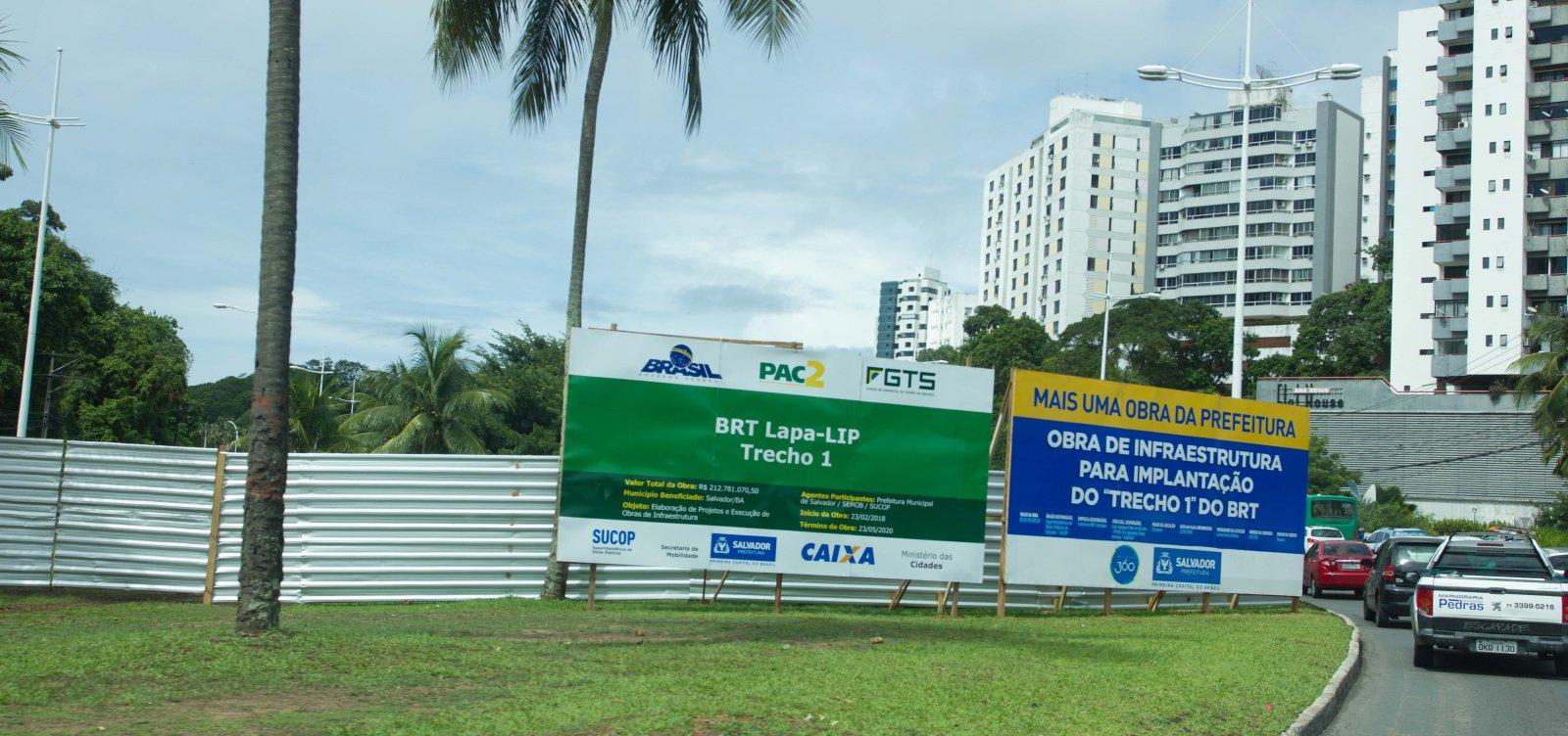 [Liminar libera intervenções ambientais nas obras do BRT]