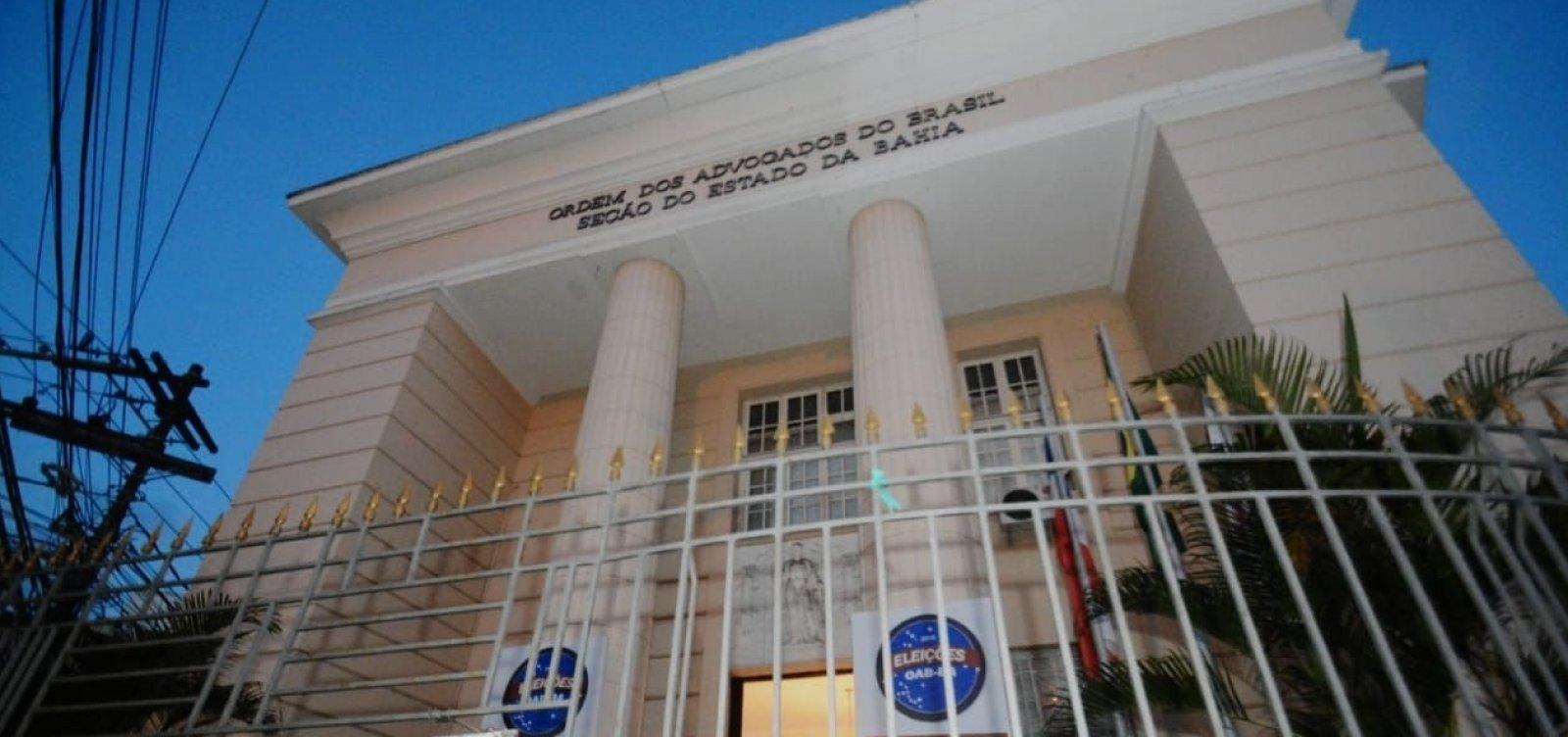 [Quinto Constitucional: advogados participam de sabatina da OAB-BA]