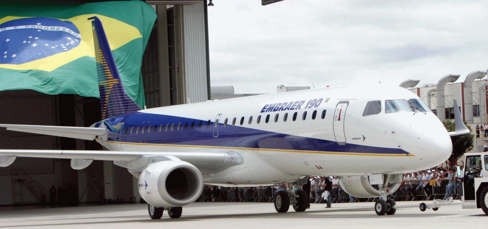 [Embraer tentará reverter suspensão de venda à Boeing]