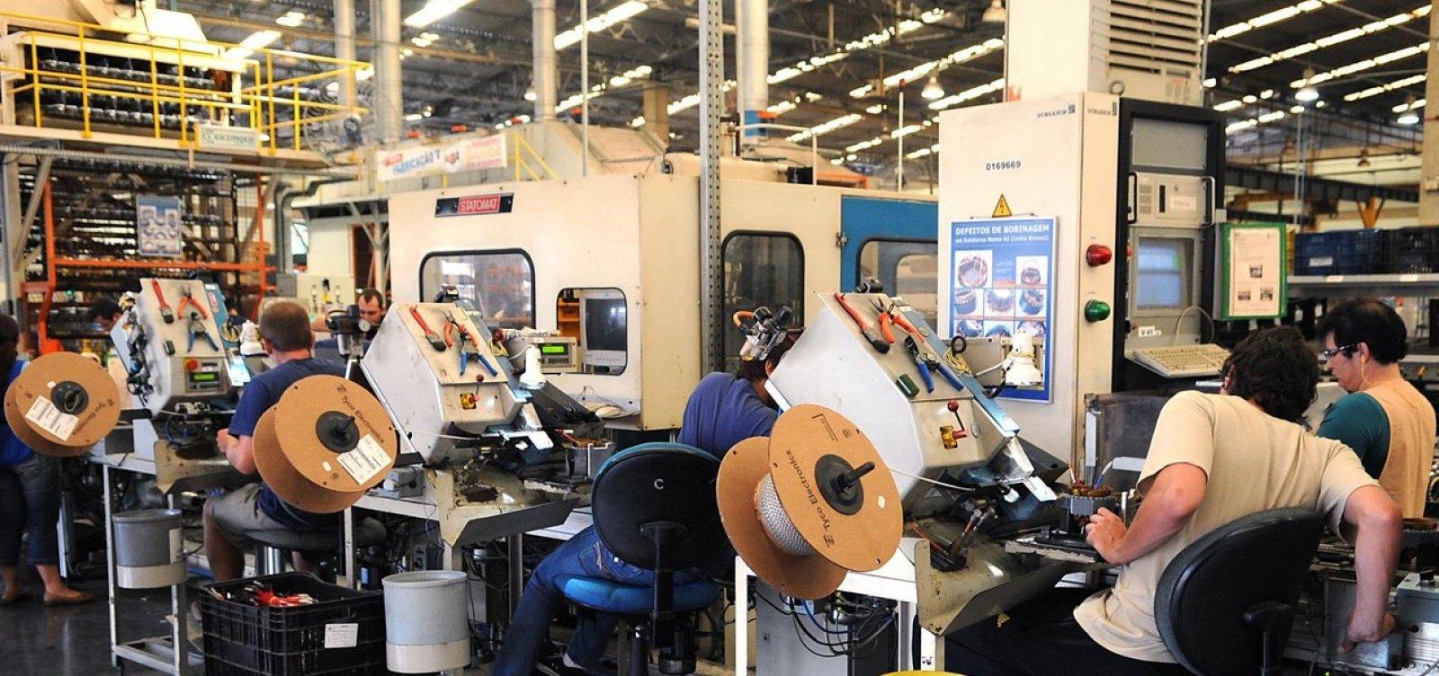 [Produção industrial baiana cresce 1,1% entre outubro e novembro, aponta IBGE]