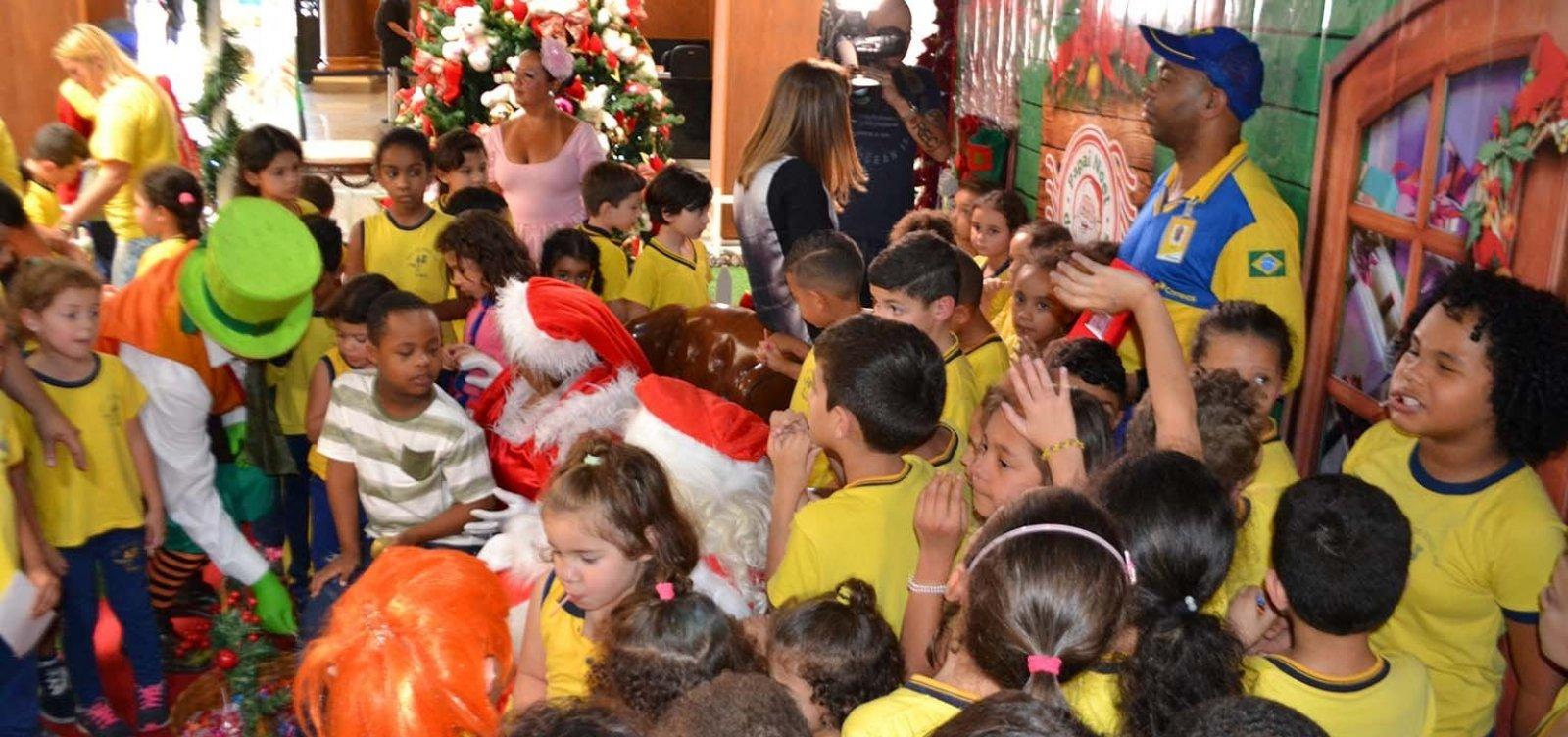 [Cartas da campanha Papai Noel dos Correios estão disponíveis até o dia 14]