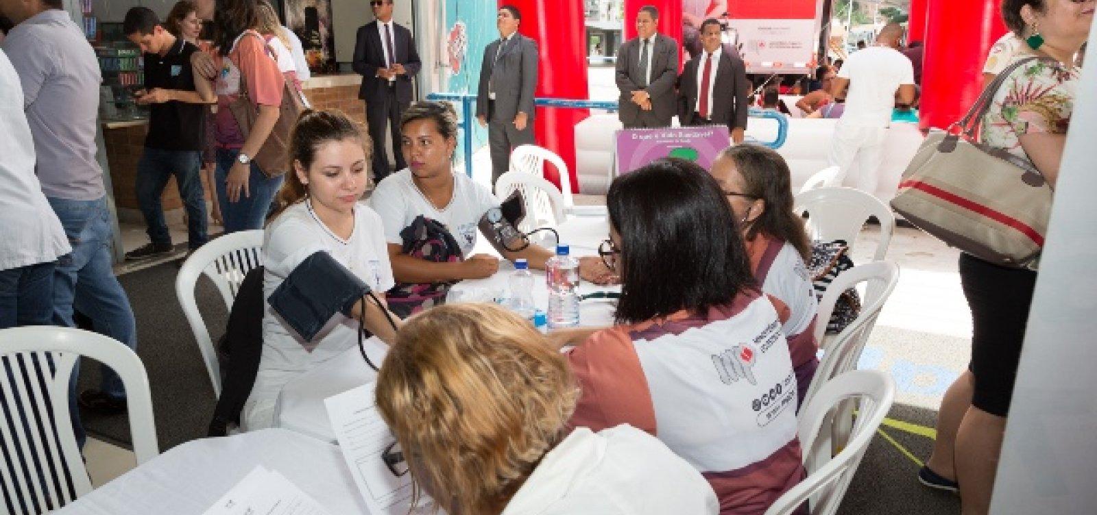 [MP presta serviços gratuitos e atendimentos básicos de saúde em Salvador]