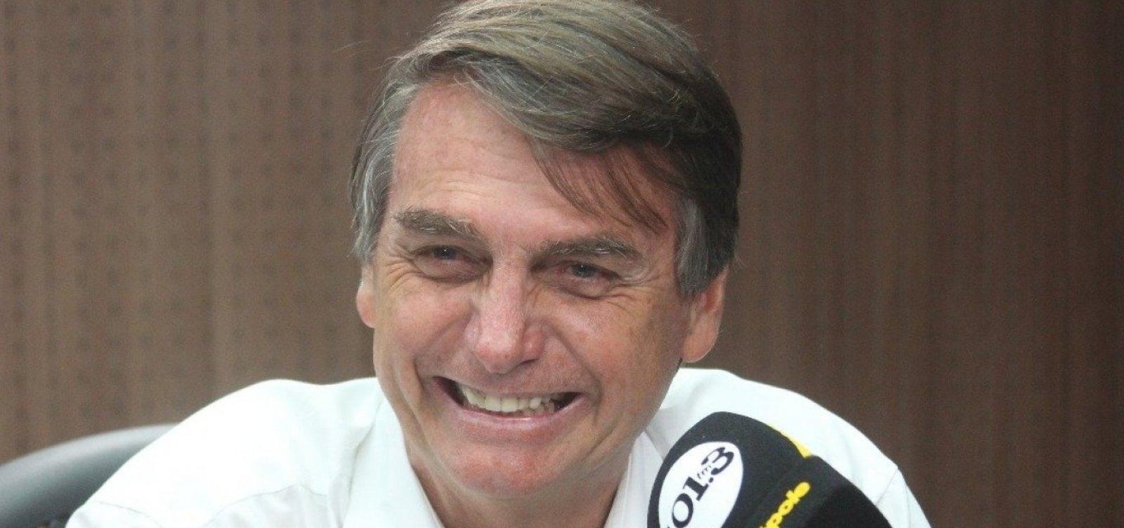 [Bolsonaro diz que Brasil 'deixará de ser galinha dos ovos de ouro']