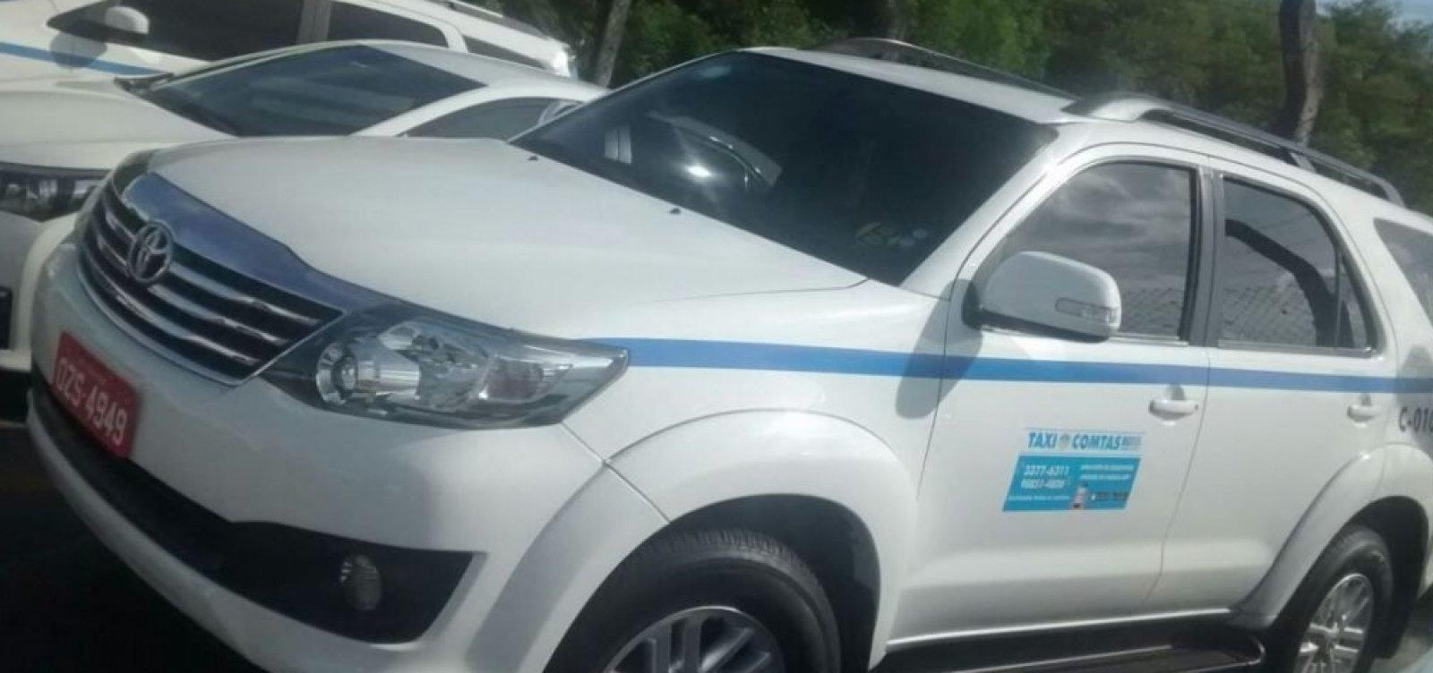 [Táxis especiais serão inspecionados pela prefeitura a partir desta segunda]