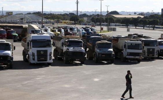 [Protestos de caminhoneiros são registrados no Rio e em SP]