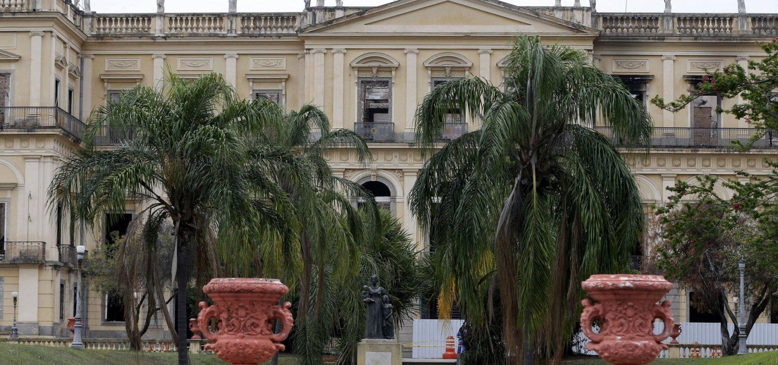 [Governo alemão doa quase 190 mil euros ao Museu Nacional no Rio de Janeiro]
