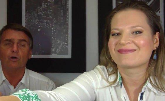 [Ataques de Joice Hasselmann a Bolsonaro reparecem na web e jornalista nega: 'É vírus']