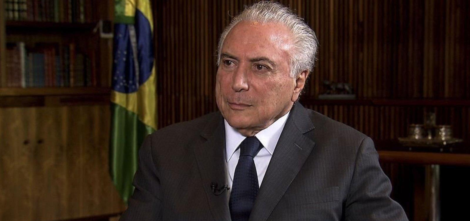 [Temer libera R$ 200 milhões para conter greve de servidores em Roraima]