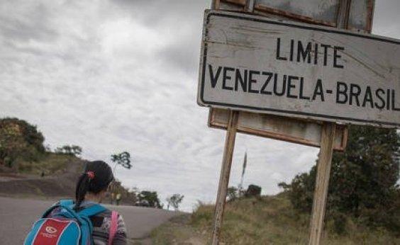 [Indígenas bloqueiam passagem da Venezuela para Roraima]